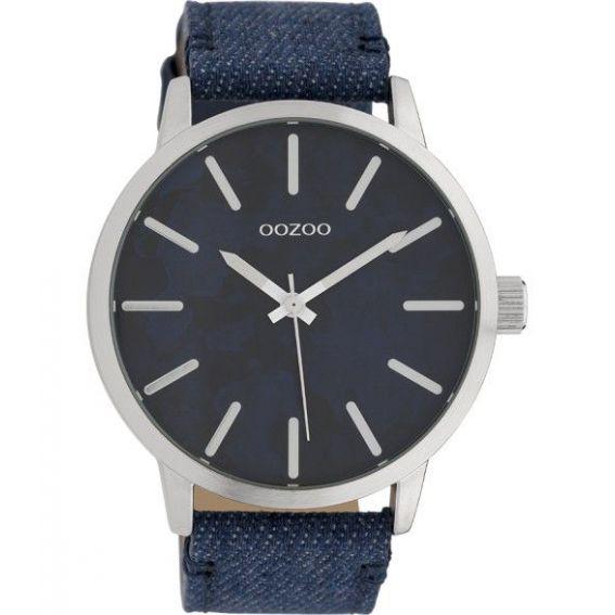 Montre Oozoo Timepieces C10000 jeans blue - Montre de marque Oozoo