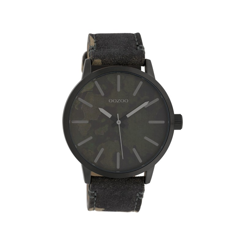 Montre Oozoo Timepieces C10003 dark camouflage - Montre marque Oozoo