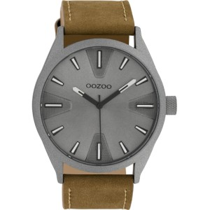Montre Oozoo Timepieces C10022 brown/dark grey - Montre marque Oozoo