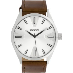 Montre Oozoo Timepieces C10020 brown/white - Montre marque Oozoo