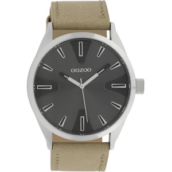 Montre Oozoo Timepieces C10021 sand/dark grey - Montre marque Oozoo