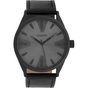 Montre Oozoo Timepieces C10024 black/dark grey - Montre marque Oozoo