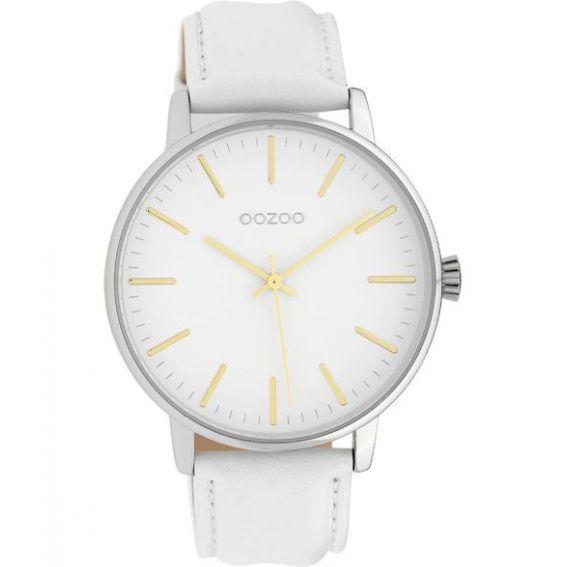 Montre Oozoo Timepieces C10040 white - Montre de marque Oozoo