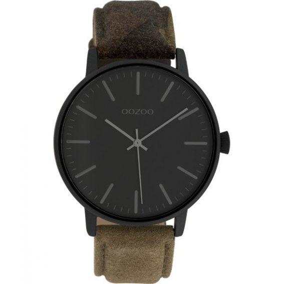 Montre Oozoo Timepieces C10043 Dark Army - Montre de marque Oozoo