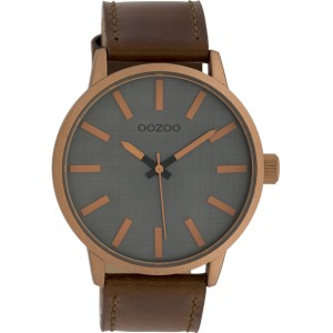 Montre Oozoo Timepieces C10033 brown/grey - Montre de marque Oozoo