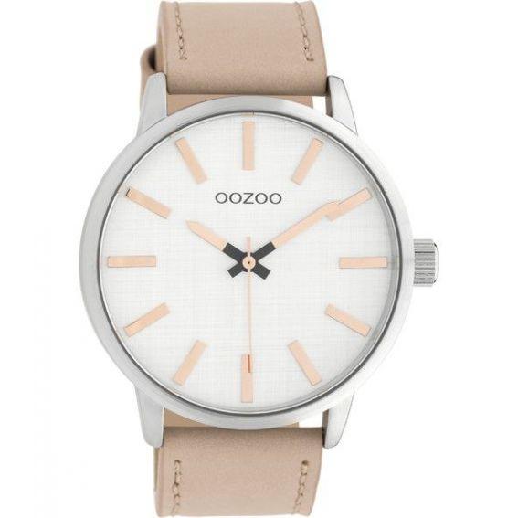 Montre Oozoo Timepieces C10031 pinkgrey/silver - Montre de marque Oozoo