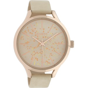 Montre Oozoo Timepieces C10086 Sand/Rose Gold - Marque montre Oozoo