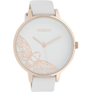 Montre Oozoo Timepieces C10075 White/Rose Gold - Marque montre Oozoo
