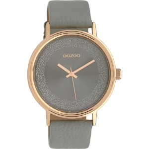 Montre Oozoo Timepieces C10096 Silver/Rose Gold - Marque montre Oozoo
