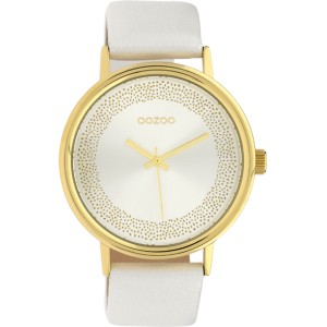 Montre Oozoo Timepieces C10095 White/Gold - Marque montre Oozoo