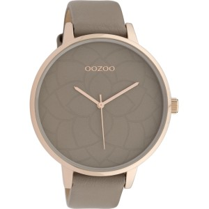 Montre Oozoo Timepieces C10104 Taupe/Rose Gold - Marque montre Oozoo
