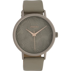 Montre Oozoo Timepieces C10082 Taupe - Marque montre Oozoo