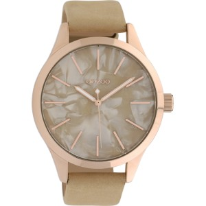 Montre Oozoo Timepieces C10070 Sand/Rose Gold - Marque montre Oozoo