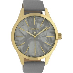 Montre Oozoo Timepieces C10071 Grey/Gold - Marque montre Oozoo
