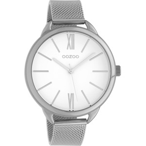 Montre Oozoo Timepieces C10134 Silver/White - Marque de montre Oozoo