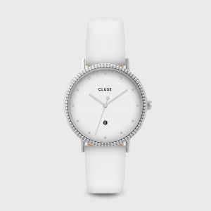 Cluse - The Coronation Silver White / White