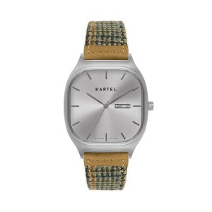 Kartel - KT-Sinclair 40mm-SSTR Troon Cashmere Wool strap