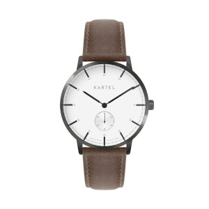 Kartel - KT-40mm-GMUB Kendrick Brown Stitched Leather
