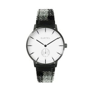 Kartel - KT-KENDRICK 40mm-GWC Black and Gray Lambswool