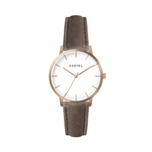 Kartel - KT-Isla 34mm-RGWUB Brown Stitched Strap