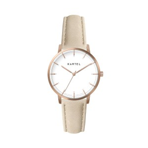 Kartel - KT-Isla 34mm-RGWI Ivory Stitched Leather