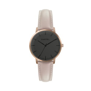 Kartel - KT-Isla 34mm-RGBN Nude Stitched Leather strap