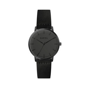Kartel - KT-ISLA-rAGBFB 34mm Black Flat Leather