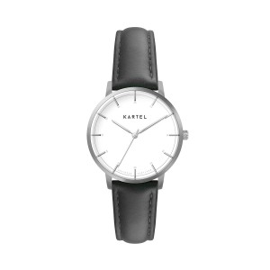 Kartel - KT-Isla 34mm-SWB Black Stitched Leather strap