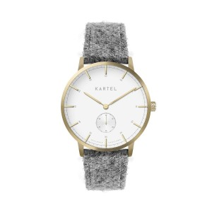 Kartel - KT-KENDRICK 40mm-GLLGT Light Gray Harris Tweed strap