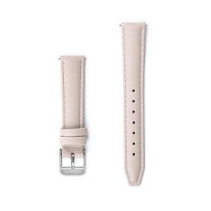 Nude Pink Stitched Leather Watch Strap - 16mm Width - Montre/Watch/Horloge Kartel
