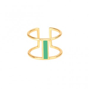 Bangle Up - Moon - Green Opal