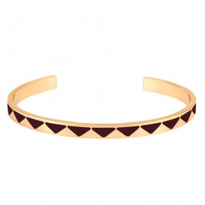 Bangle Up - Bollystud - Dark Red