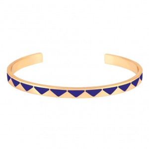 Bangle Up - Bollystud - Blue earthenware
