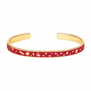 Bangle Up - Lucy Red Velvet