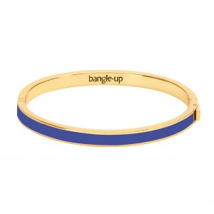 Bangle Up - Bangle with Clasp - Blue Clematis