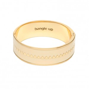 Bangle Up - Bollystud - White sand