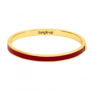 Bangle Up - Bangle with Clasp - Dark Red