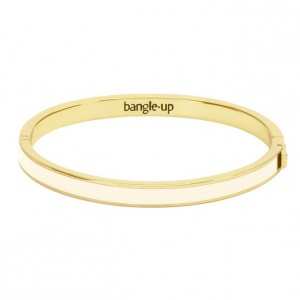 Bangle Up - Bangle with Clasp - White sand