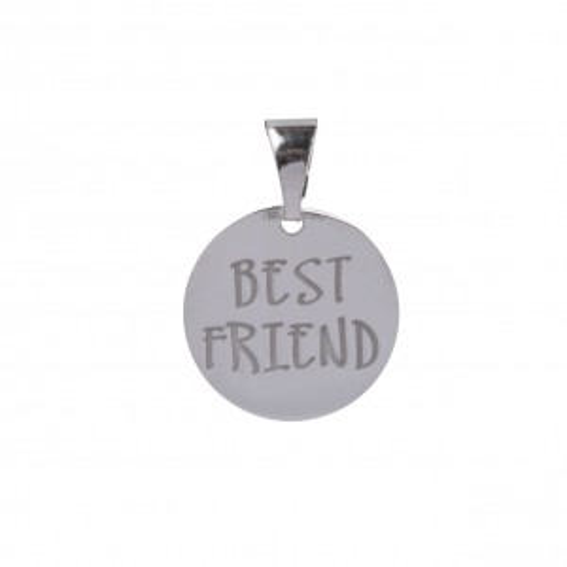 Bijou en argent - Medal Best Friend