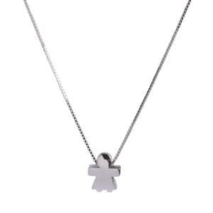 Bijou en argent - Pack girl / guy Pendant Chain +