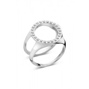 Melano - Cover ring with stones