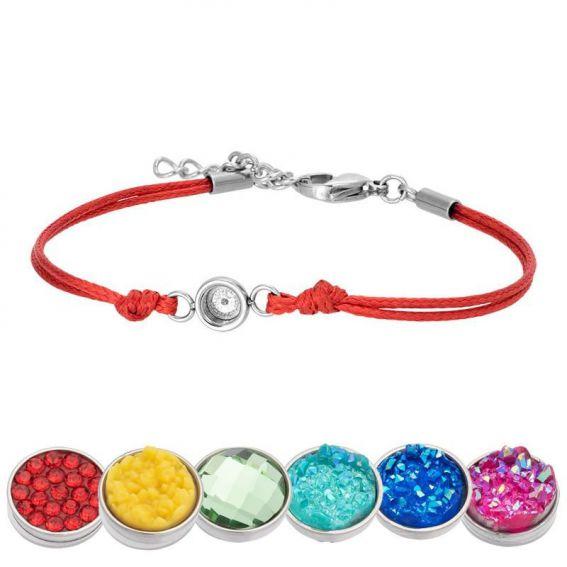 Bracelet iXXXi Wax rouge pour Top part - Bracelets de marque iXXXi