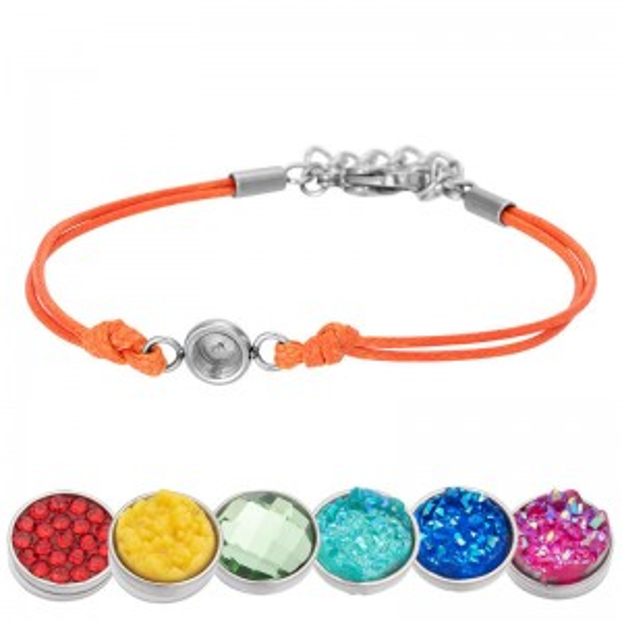Bracelet iXXXi Wax orange pour Top part - Bracelets de marque iXXXi