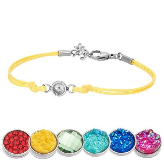 Bracelet iXXXi Wax jaune pour Top part - Bracelets de marque iXXXi