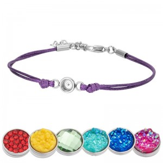 Bracelet iXXXi Wax mauve pour Top part - Bracelets de marque iXXXi