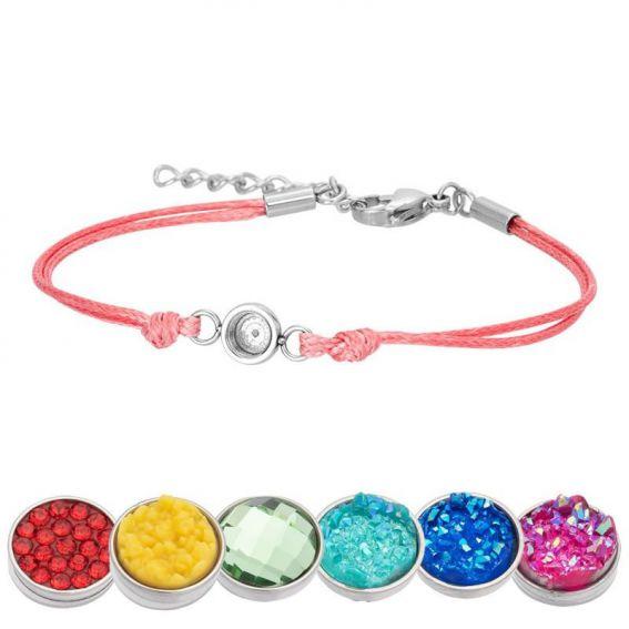 Bracelet iXXXi Wax rose pour Top part - Bracelets de marque iXXXi