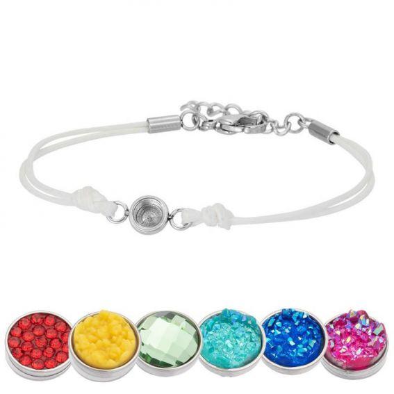 Bracelet iXXXi Wax blanc pour Top part - Bracelets de marque iXXXi