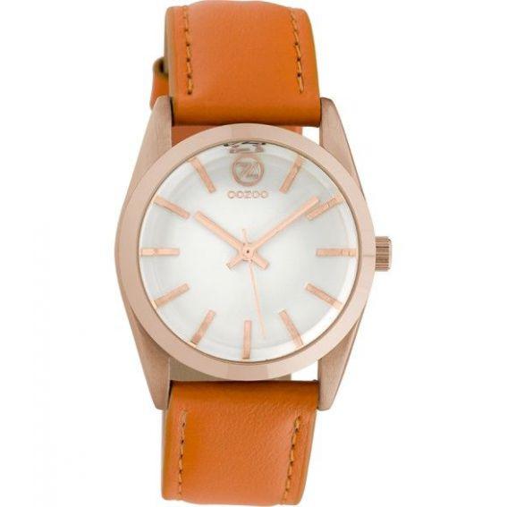 Montre Oozoo Timepieces C10188 orange - Marque montre Oozoo