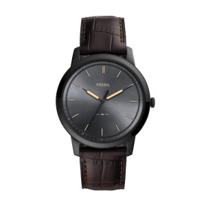 Montre Fossil FS5573 THE MINIMALIST 3H - Montre Fossil hommes