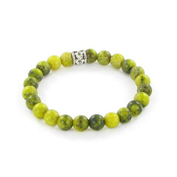 Bracelet Göshö - Turquoise d'Afrique - Bracelet en pierres naturelles